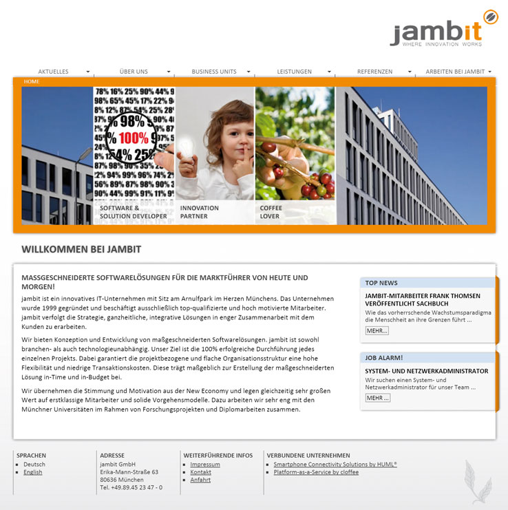 jambit Website