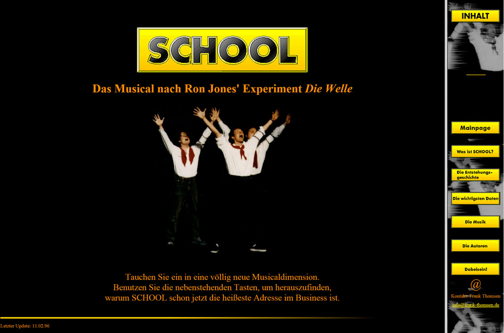 Das Musical School Website