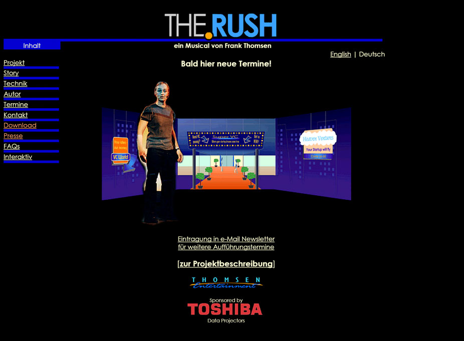 THE.RUSH Website
